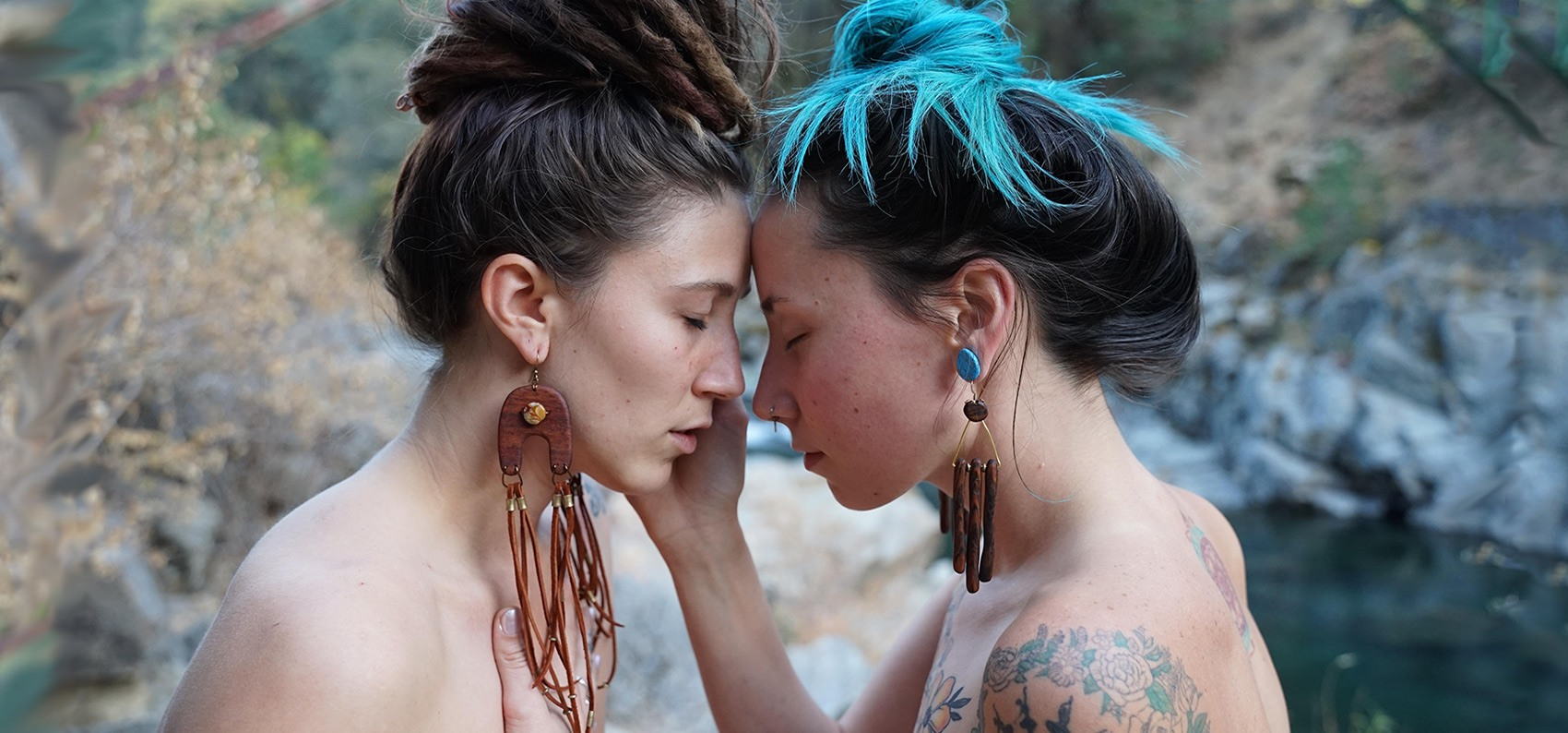 Handmade wooden earrings, USA by TatianaAshna